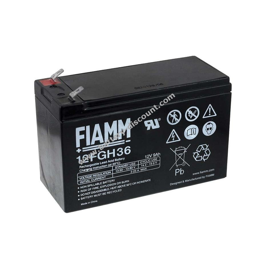 Fiamm Rechargeable Lead Battery 12fgh36 Stable To High Current Charger